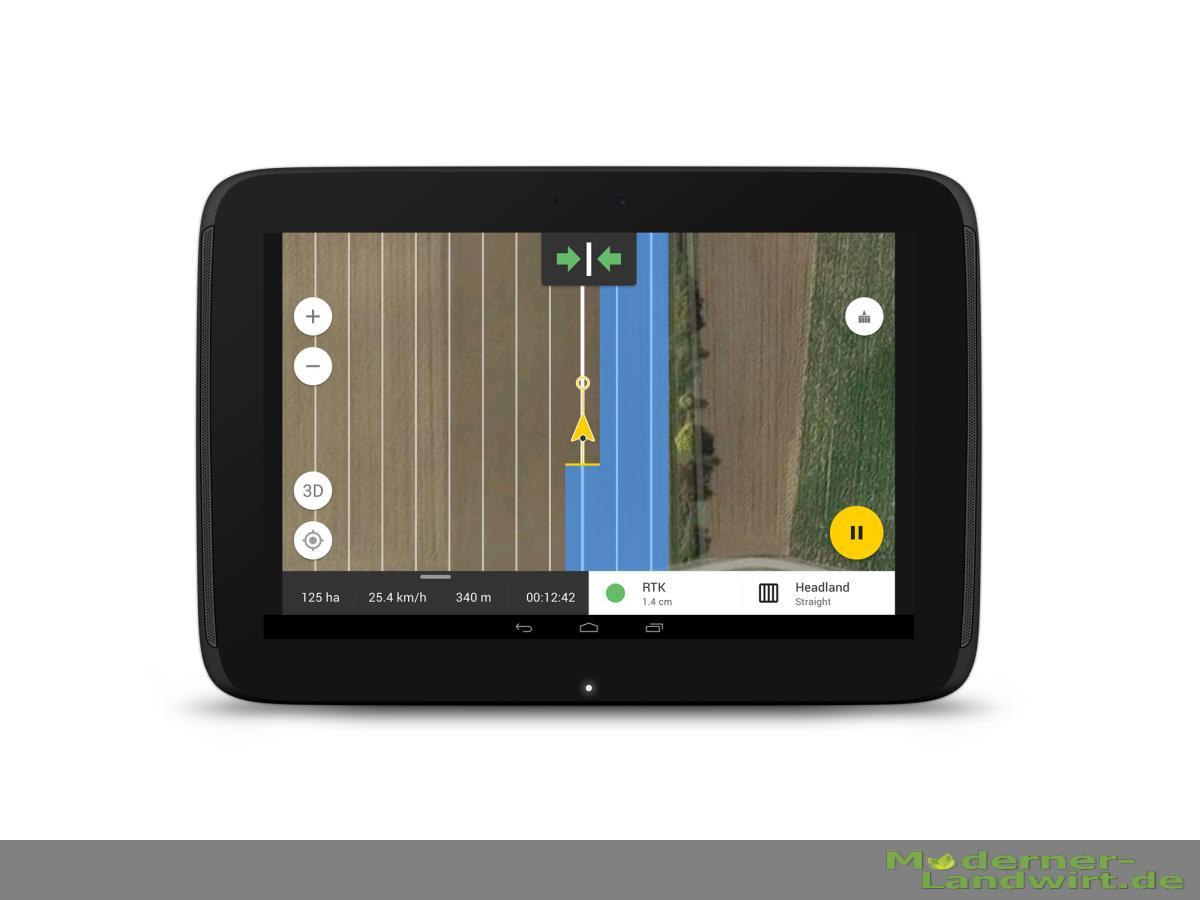 FieldBee Tractor GPS app 1